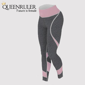 Sexy Heart Pattern Leggings - Queenruler