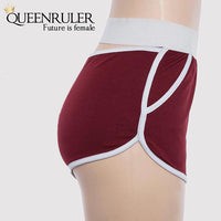 Hot Cotton Athletic Shorts (Red) - Queenruler