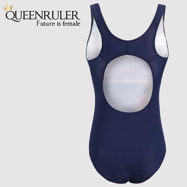 Queenruler Sexy Swimsuit (Navy) - Queenruler