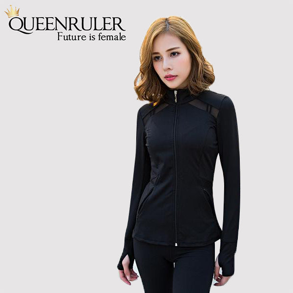 Yoga Running Jacket - Queenruler