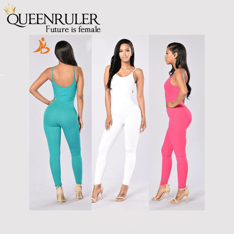 Quick-Dry Athletic Jumpsuit (Blue) - Queenruler