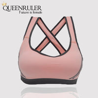 Breathable Fitness Bra (Purple) - Queenruler