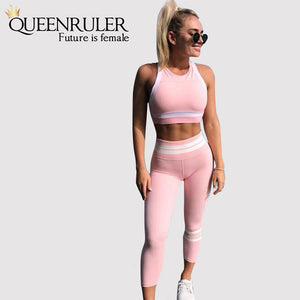 Two Piece Pink Suit - Queenruler