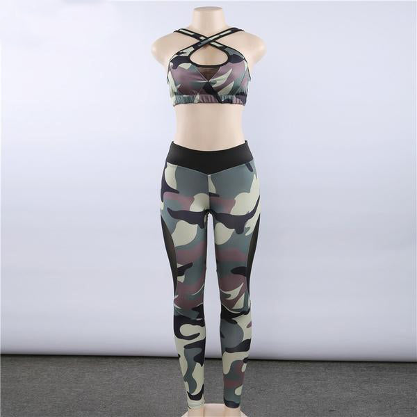Sexy Camouflage 2PC Set - Queenruler