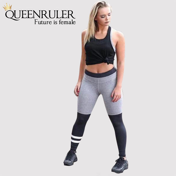 Two Tone Sexy Leggings - Queenruler