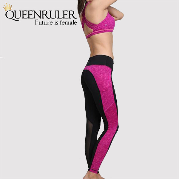 Women Fitness Leggings (Plum) - Queenruler