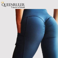 High waist Booty Yoga Pants - Queenruler