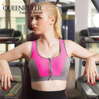 Professional Zipper Bra (Pink) - Queenruler