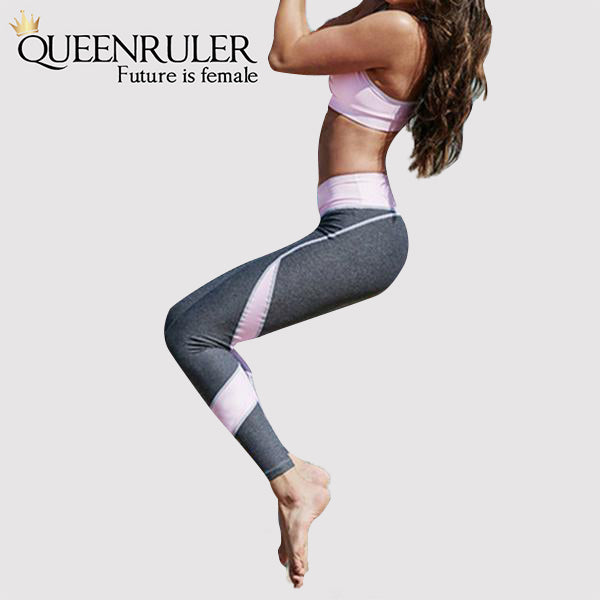 High Waist Running Set (Pink) - Queenruler
