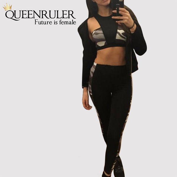 High Quality military Yoga Suit - Queenruler