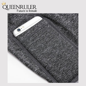 Athletic Leggings With Pocket (Black) - Queenruler