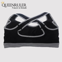 Breathable Fitness Bra (Sky Blue) - Queenruler