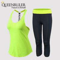 2 Piece Open Back Sleeveless Set - Queenruler