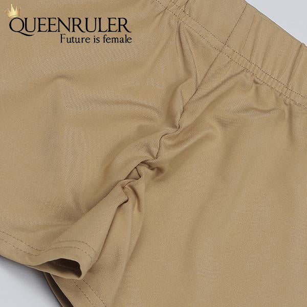 Queenruler Sexy Athletic Shorts (Deep Green) - Queenruler