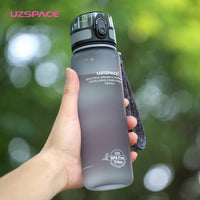 Portable Fitness Bottle (Gray) - Queenruler