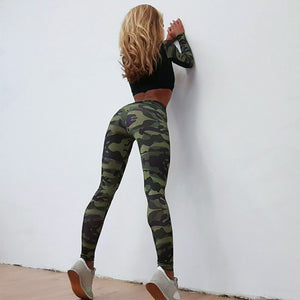 Long Sleeves Sportswear Set (Army Green) - Queenruler