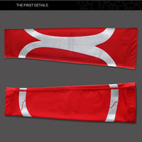 Red Sports Warmer Arm  Sleeves| Queenruler