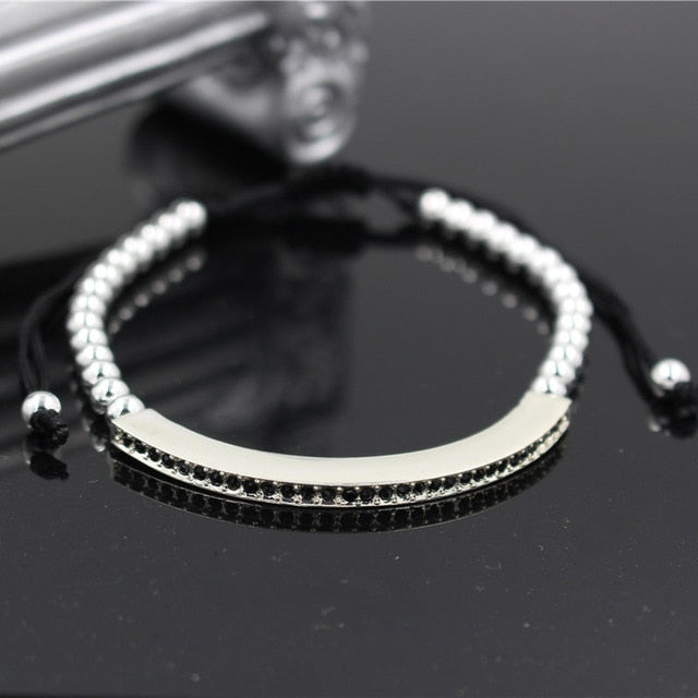 Handmade luxury eye Zircon Bracelet
