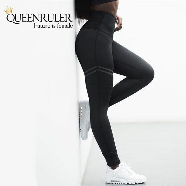 High waisted fitness sports leggings