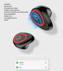 Intelligente Uhr,Bluetooth-Headset,2 in 1