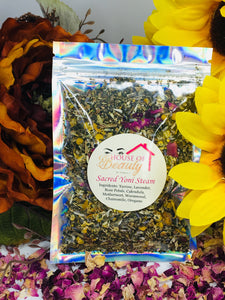 Sacred Yoni Steam - House Of Beauty by Paris J