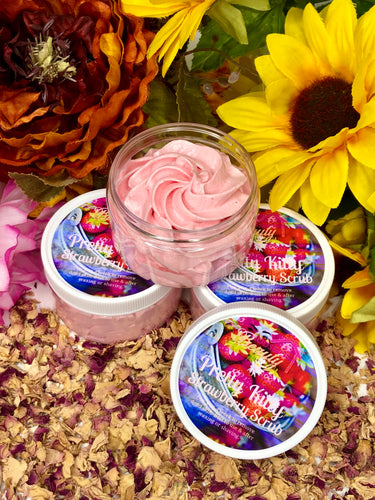 Pretty Kitty Strawberry Scrub