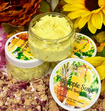 Load image into Gallery viewer, Pineapple Sage Whipped Body Butter