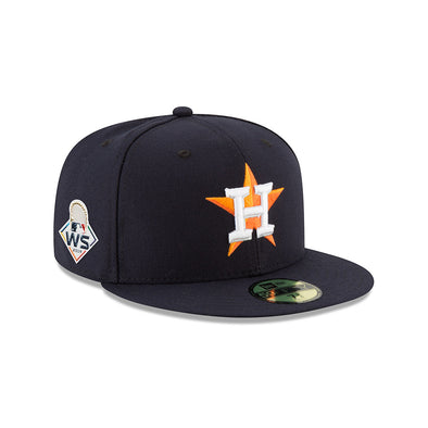 Houston Astros Home World Series Patch Fitted Home 5950