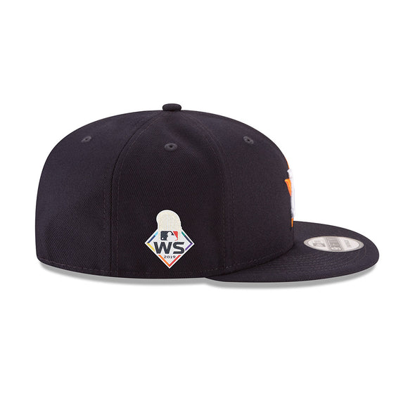 Houston Astros New Era 2019 World Series Bound Sidepatch 9FIFTY Snapback Adjustable Hat
