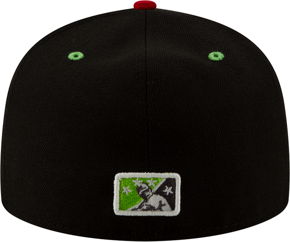 Round Rock Chupacabras 2020 On-field Home Cap 5950 Low Profile Fitted Cap