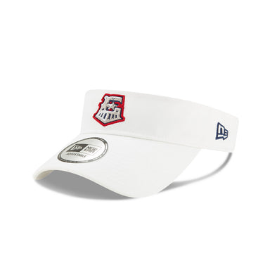 Round Rock Express Clutch Team Visor White