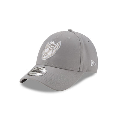 Round Rock Chupacabras New Era 940 The League Gray adjustable cap