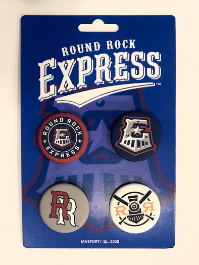 Round Rock Express 4 Button Pack