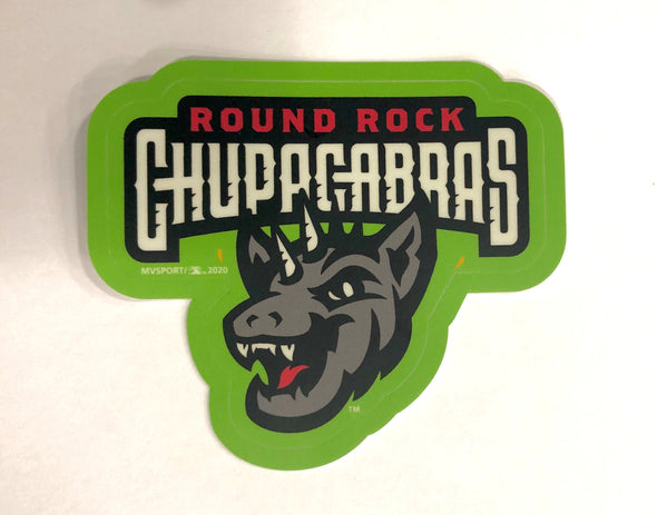 Round Rock Chupacabras Sticker