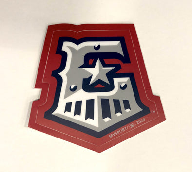 Round Rock Express Etrain Sticker