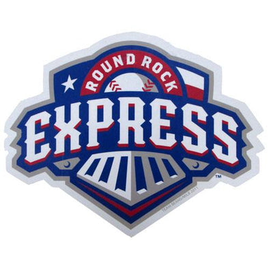 Round Rock Express Express Primary Logo Magnet