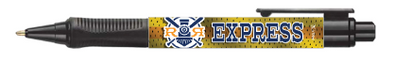 Round Rock Express Fauxback Grip pen