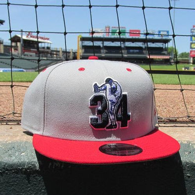 Round Rock Express NOLAN RYAN FOUNDATION RED SNAPBACK