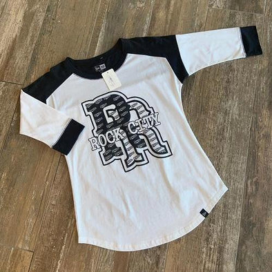 Round Rock Express New Era Women's Heritage 3/4 Sleeve