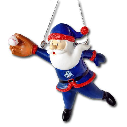 Round Rock Express Diving Santa Ornament