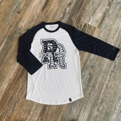 Round Rock Express New Era Rock City 3/4 Raglan