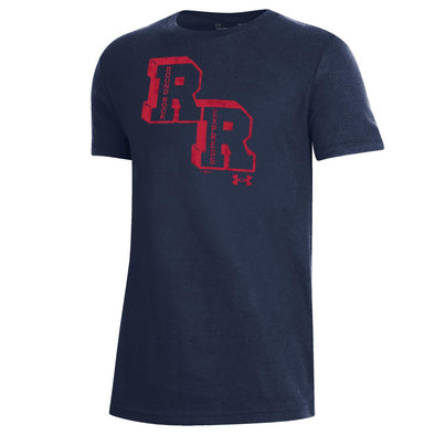 Round Rock Express Youth Under Armour Performance Cotton Navy