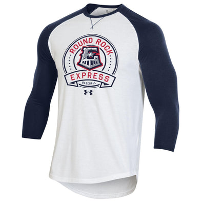 Round Rock Express Men's Under Armour 3/4 Sleeve Baseball tee