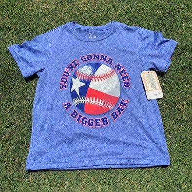 Round Rock Express Youth Nolan Ryan Foundation You're Gonna Need a Bigger Bat Tee