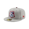 Round Rock Express Heather Hype Grey 5950
