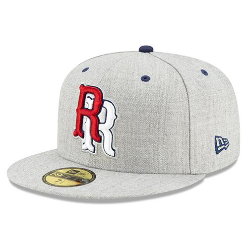 Round Rock Express RR Heather 5950 Fitted Cap