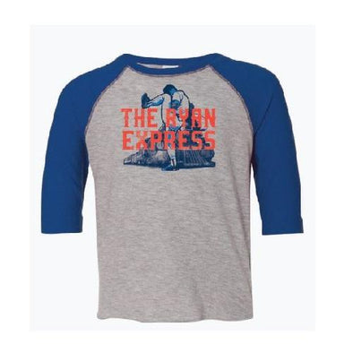 Round Rock Express Nolan Ryan Foundation Toddler Raglan Tee