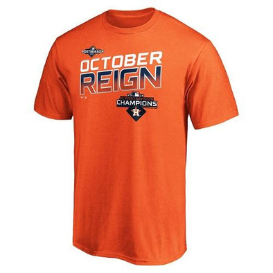 Round Rock Express Houston Astros October Reign Playoff Locker Room Tee