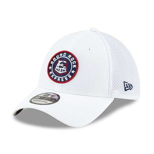 Round Rock Express White Primary 3930 Flex