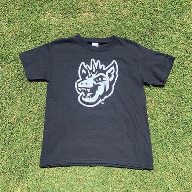 Round Rock Express Round Rock Chupacabras Youth Black & White tee